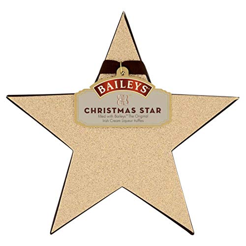(Baileys Christmas Star Irish Cream Milk Chocolate Truffles,)