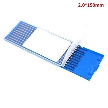 SNOWINSPRING 10Pcs Wy20 Tungsten Electrode Professional Tig Rod 3,0 Mm pour Option 2.0/% Lanthanated pour Machine de Soudage Tig