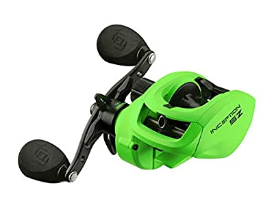 13 Fishing Inception SZ (Sport Z) 7.3.1 Baitcaster Fishing Reel for Freshwater and Saltwater - Choose Right or Left Hand | Free Waterman's SPF50 Face Mask $14.95 Value