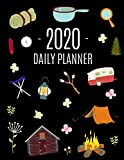 Camping Planner 2020: Stylish Daily