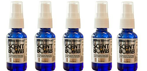 Scent Bomb Super Strong 100% Concentrated Air Freshener - (Clean Cotton) by Scent Bomb