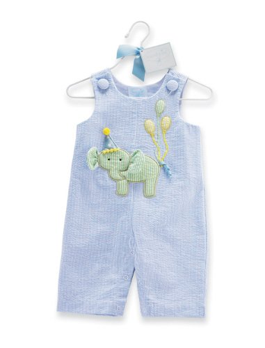 Mud Pie Baby Boys Birthday Longalls Outfit