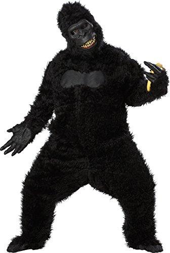 California Costumes Goin' Ape Bodysuit, Black, One Size Costume -