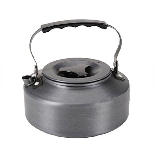 BeautySu. 1.1L Portable Ultra-light Outdoor Hiking Camping Picnic Water Kettle Teapot Coffee Pot Anodised Aluminum alloy
