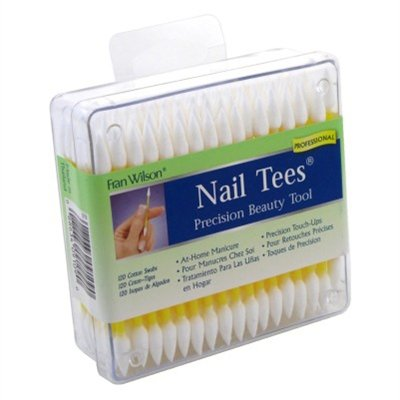 - Fran Wilson Nail Tees Cotton Tips 120 Count (3 Pack)