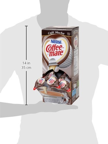 NESTLE COFFEE-MATE Coffee Creamer, Cafe Mocha, liquid creamer singles, 50 Count (Pack of 4) by Nestle Coffee Mate (Image #9)
