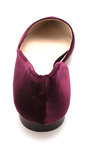 Fisher Fabric Medium Women's Ltd Toe Marc Sunny4 Pointed Red Flat FwPWqS