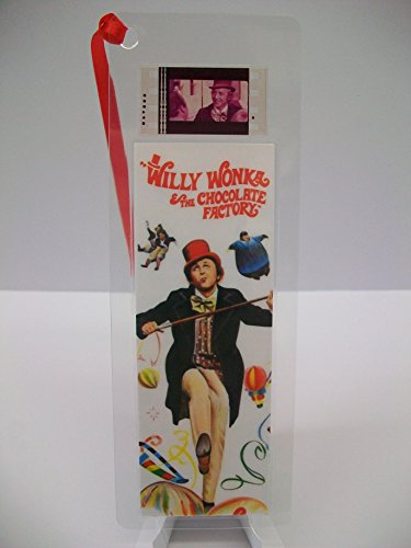WILLY WONKA Movie Film Cell Bookmark Collectible Cinema Memorabilia complements poster - Style Willy Wonka