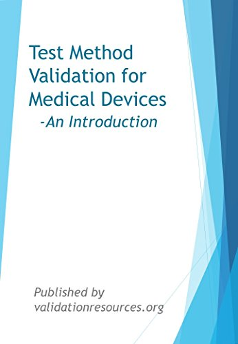Test Method Validation for Medical Devices- An Introduction Pdf