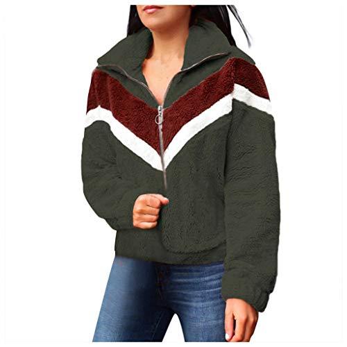 1/2 Zip Pullover Knitted Fleece - 5