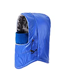 Windproof Waterproof Balaclava Cycling Ski Mask, Wind Caps With Face Guard Blue