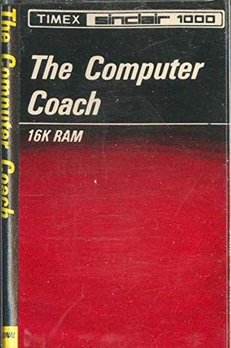 The Computer Coach Timex Sinclair 1000 Software - 16k RAM Cassette Tape
