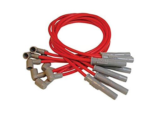 Custom Spark Plug Wire Set Red Super Conductor 8 5Mm