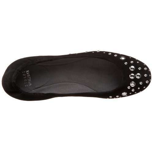 largest supplier online eastbay Stuart Weitzman Women's Dotsalot Studded Flat Black Suede yAEsm