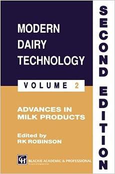Descargar Torrents En Castellano Modern Dairy Technology: Volume 2 Advances In Milk Products Ebook PDF