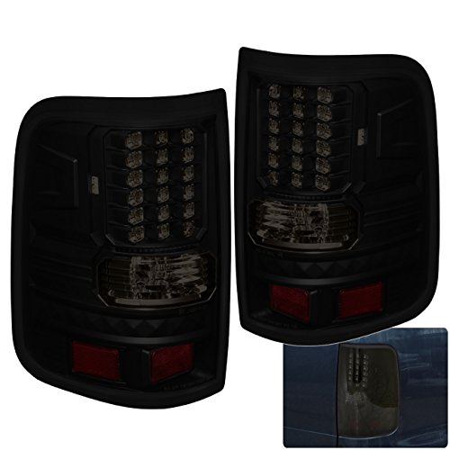 Tail Lights Lamps For Ford F-150 F150 Styleside Body (Smoke) ()