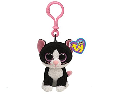 Ty Beanie Boos - Pepper-Clip the Cat