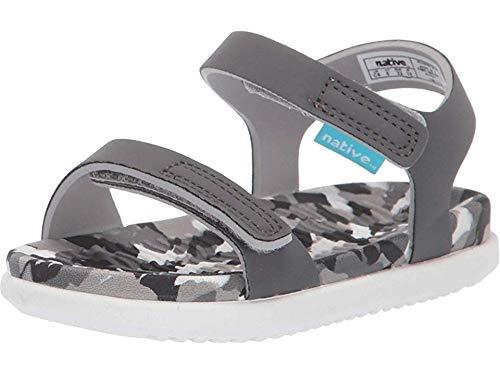 Native Kids Shoes Unisex Charley (Toddler/Little Kid) Dublin Grey/Konpeito/Shell White 12 M US Little Kid