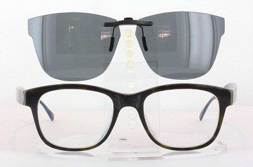 PAUL SMITH CLAYDON-PM8137-52X19 POLARIZED CLIP-ON SUNGLASSES (Frame NOT - Smith Polo Glasses