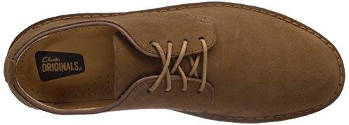 Hombre Marrón Cola Suede London con Originals Clarks Desert Zapatos cordones wF0x0AaYq