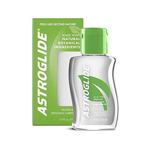 Feel Lubricant (Astroglide Natural Feel Liquid, Water Based Personal Lubricant, 2.5 oz.)