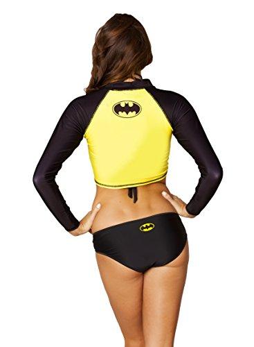 Batgirl Batman Rash Guard Womens Girls Surf Top