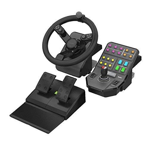 Logitech G Saitek - Farm Sim Controller - Heavy Equipment Bundle (945-000026) (Renewed)