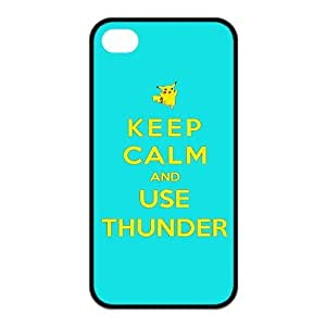 Custom Pikachu Cover Case for iPhone 4 4s EQP-1327