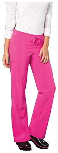 Smitten Women's Amp Cargo Scrub Pants (Medium, Smitten Pink)