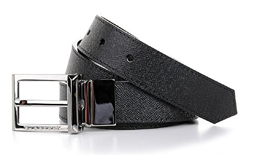 Burberry Webster London Leather Reversible Belt