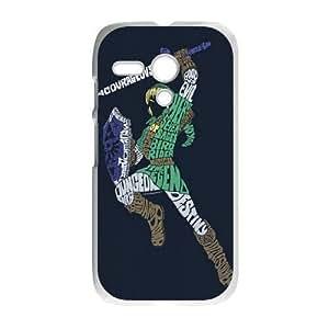Motorola Moto G Phone Case White The Legend of Zelda BF5967581