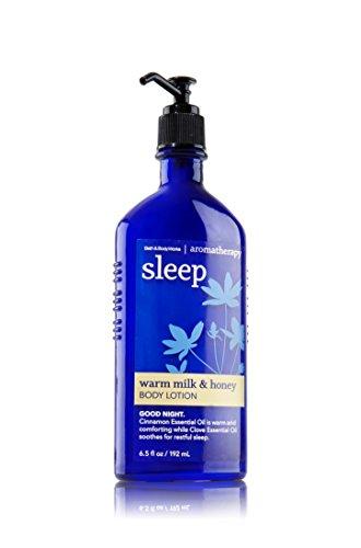 Bath and Body Works Aromatherapy Sleep Warm Milk and Honey Lotion 6.5 Ounce Original