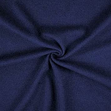 Italian pure wool navy Melton FABRIC,MATERIAL  150 cm wide