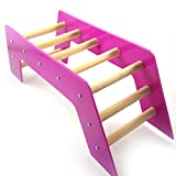 used siding brake - Wildgirl Parrot Bird Toys Arch Bridge Stair Crawling Ladder Toy (Purple)