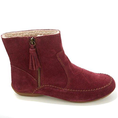 Sporto Glädje Mocka Fuskpäls Boots 494-376 Tawny