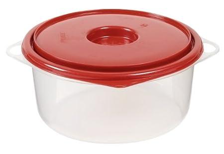 Pyrex Vitri plástico-platos de microondas