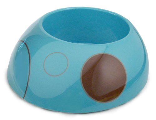 Otis and Claude Lucy Pet Bowl - Tangy Turqouise (Large)