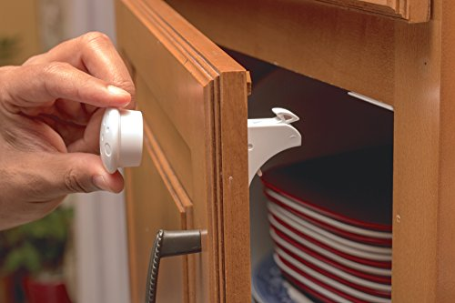BabyProofing Magnetic Cabinet lock | Child Safety for cabinets & drawers 6 Locks