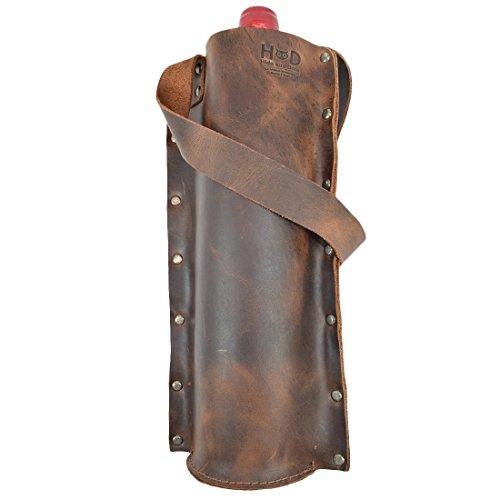 leather wine bag - 5