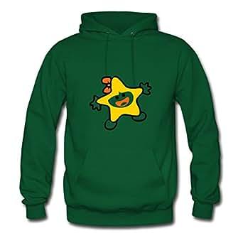 Lynsnyd Green Customized O-neck Popular Funny Christmas Star Hoody/women X-large