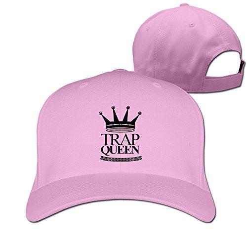 Funny Trap Queen Hats Caps Pink