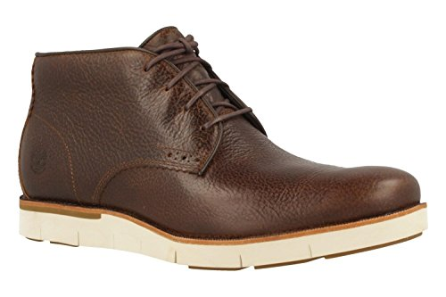 Timberland Mens Preston Hill Plain Toe Chukka Waterproof Light Potgrond