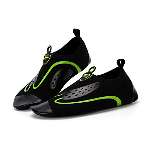 Quick Shoes Sports Skin Water Men Women Surf Dry Green WYXlink Unisex Shoes Water Socks Yoga Swim OX6cxayq