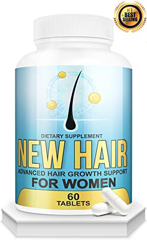 Hair Growth for Women 3 in 1 - Anti Hair Loss, DHT Blocker for Women & Hair Growth Supplement for Perfect Hair.Hair Vitamins for Thinning Hair.Get Healthy,Strong,Thick Hair - with Biotin,Saw Palmetto