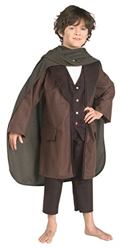 Frodo Baggins Costume - Large (Kids Hobbit Feet)