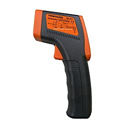 Contempo Views Tenmars TM-301 IR Laser Thermometer Digital Infrared Temperature meter used for HVAC inspection, Electrical inspection, and Motor inspection
