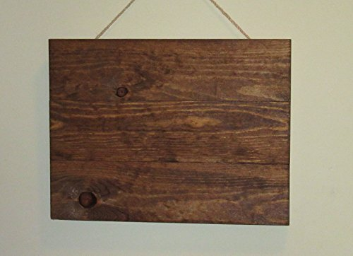 """Stained wood blank sign, Reclaimed Wood Canvas, 14""""X10"""" Wood Canvas, Pallet Wood Canvas, Photography Backdrop, Rustic Decor"""