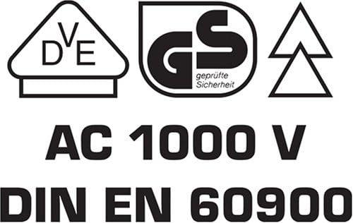felo E-smart VDE Schraubendreher Schraubenzieher Satz DIN EN 60900 Set 14-teilig