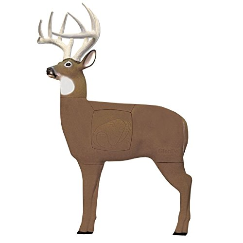 Field Logic GlenDel Pre-Rut Buck 3D Archery Target with Replaceable Insert Core