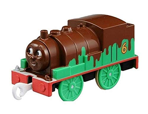PlaRail Japan Import Chocolate Percy (NOT Motorized) Trackmaster Compatible